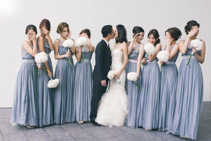 Slate Bridesmaid Dresses 102