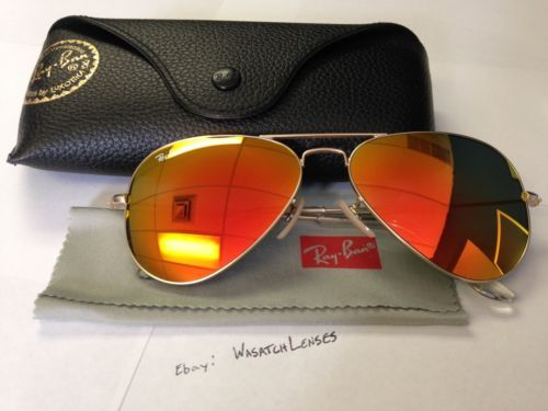 Ray Ban Orange Mirror