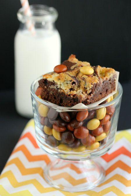 Cheesecake-Marbled Brownies by @Krystal Regueiro #OXOGoodBrownie