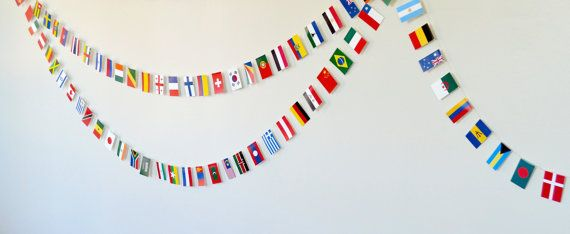 flags of the world banner - photo #24
