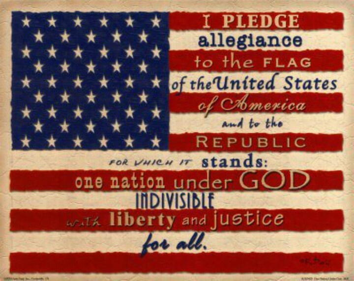 i pledge allegiance to the flag meaning