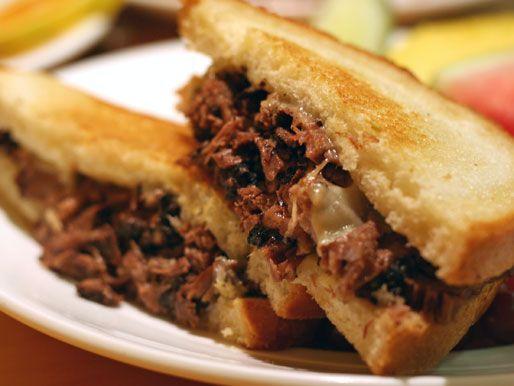 """Dublin Pot Roast Sandwich at Yolk. """"Mushroom cabernet gravy"""". '..."""
