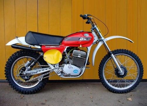 1974 KTM 250 mc