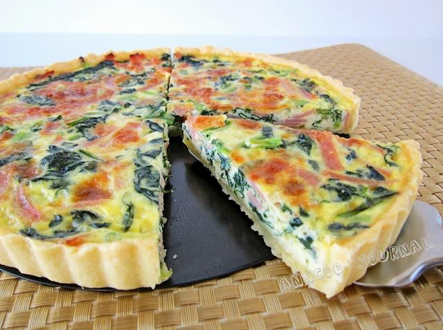 Ham & Spinach Quiche | Calling Martha Stewart... | Pinterest