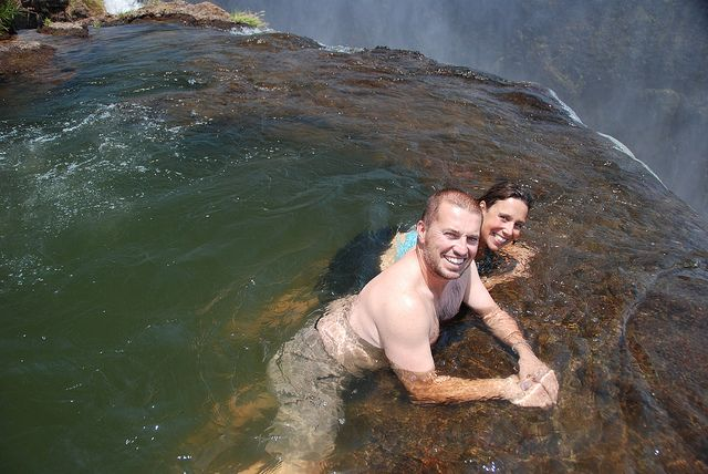 Devil 39 s pool victoria falls africa afrika pinterest for Piscina del diablo