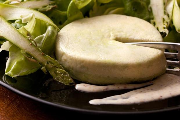 Pea Custard Salad from Claudine restaurant