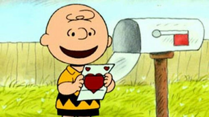 charlie brown valentine's day coloring pages