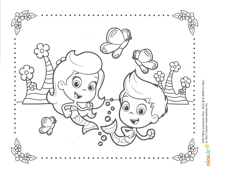 Suggestions online images of nick jr coloring pages bubble guppies
