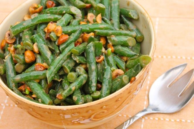 Green Bean & Hazelnut Salad | Salads | Pinterest