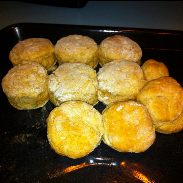 Fluffy whole wheat biscuits. | Food Food Food | Pinterest