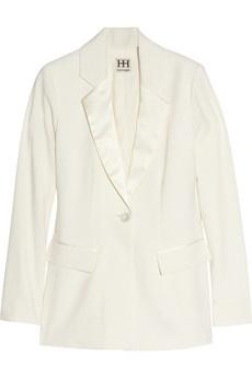 Haute Hippie Stretch-wool tuxedo blazer NET-A-PORTER.COM - StyleSays