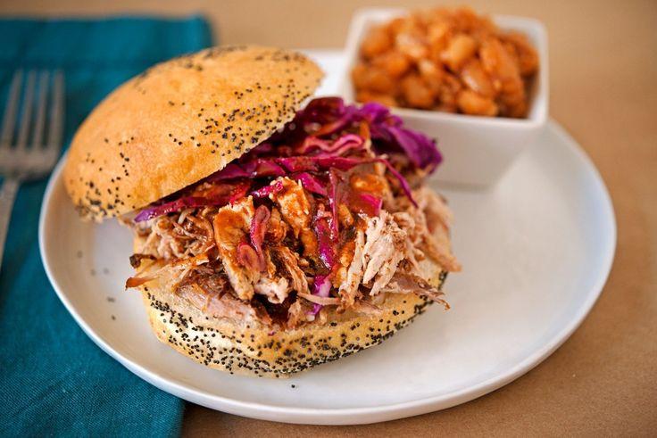 Delicious Carolina style BBQ Pulled Pork. Enjoy the recipe!