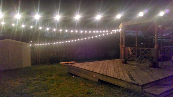 Landscape Lights Too Dim : As the primary source of light they re not too bright or dark
