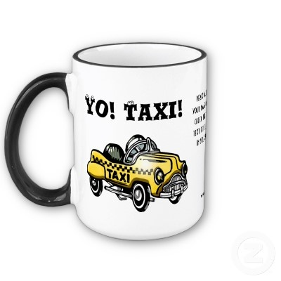 One of our favorite pedal cars was a Victor Schreckengost design painted up to mimic the bright yellow Checker Taxi Cabs that were everywhere in the 1950's. This original rendering by digital artist, Leslie Sigal Javorek, brings back those happy childhood memories. You can make this ceramic mug even more special by personalizing the custom text field (that's printed on the center section of the mug) with your name - or any other message - when placing your order! Available in 2 sizes.