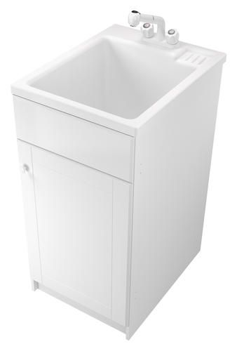 Narrow Fit Utility Sink Utilifit All In One Narrow Sink amp Cabinet ...