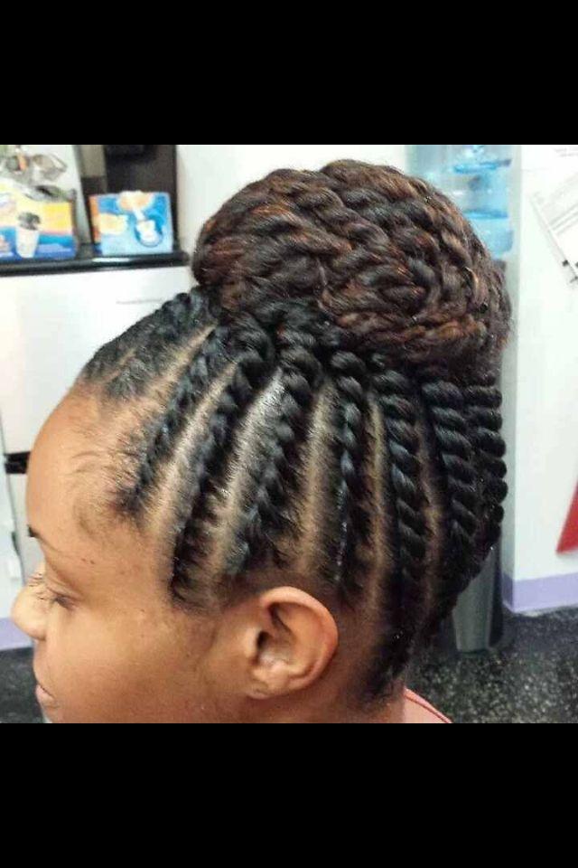 Twist Updo | Braids | Pinterest