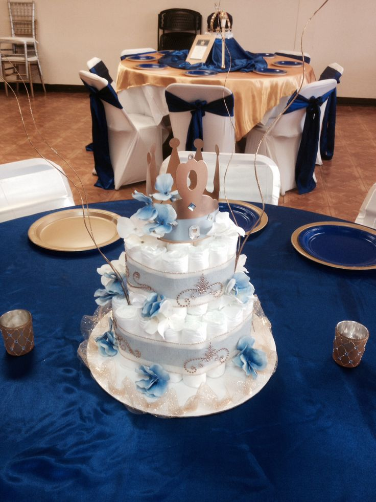 Royal baby shower decorations and more pinterest for Baby shower party hall decoration ideas