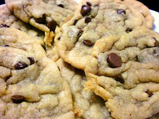 Big, fat, chewy chocolate chip cookies | Sweets | Pinterest