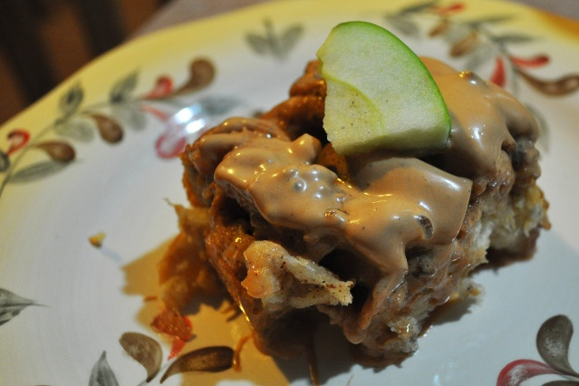Caramel Apple Sticky Buns using @Duncan Hines Frosting Creations ...