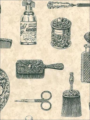 Imagenes De Baño Vintage:Imágenes decoupage baño (pág 10)