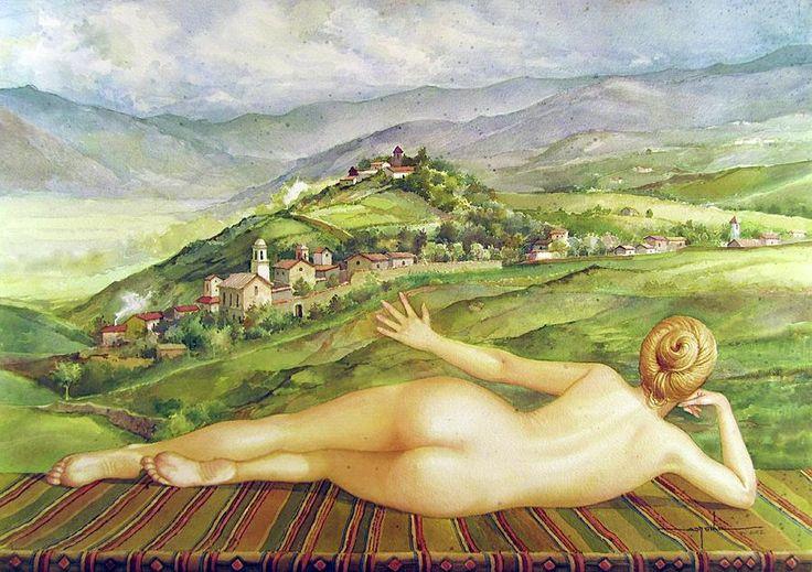 Alfredo Da SIlva  (b.1935)   —   Sylvia Buenos Aires   (900x635)