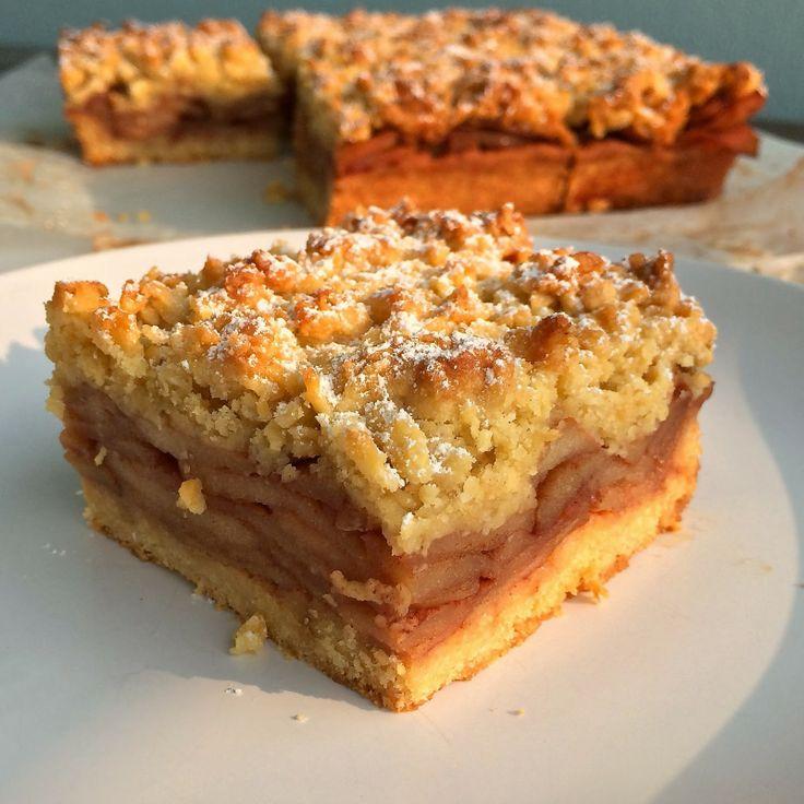 "Polish Apple ""Pie"" (Szarlotka) Recipe — Dishmaps"