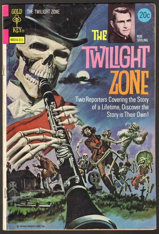 Old Book Cover Zone ~ Comic book cover under gold key judge a by its