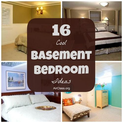 16 Cool Basement Bedroom Ideas Bedroom Design Pinterest