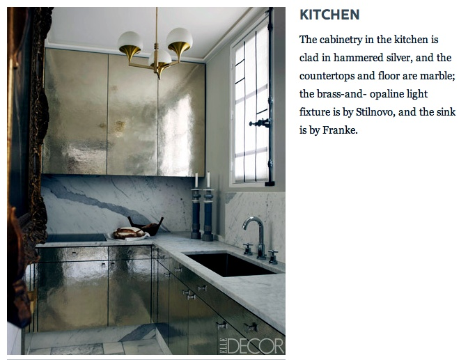 Elle decor kitchen swanky digs pinterest - Elle decor kitchens ...