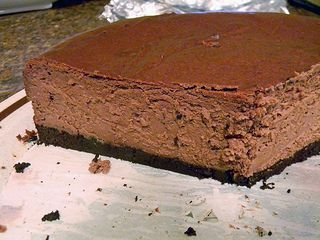 ... deep-dark-chocolate-cheesecake/ #Cheesecake, #Chocolate, #Dark, #Deep