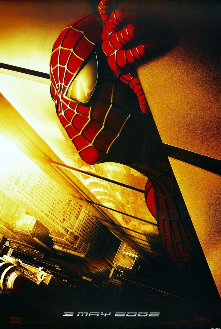 spiderman 2002 classic movie posters pinterest