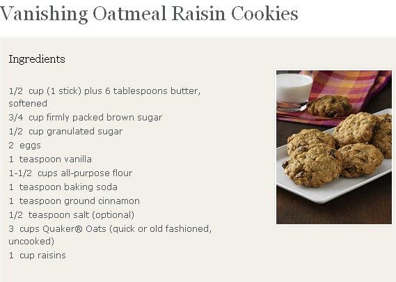 Inoffensive Oatmeal-Raisin Chocolate Chip Cookie Recipe ...