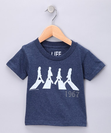 Life Clothing Navy #Beatles '1967' Tee on #zulily #abbeyroad
