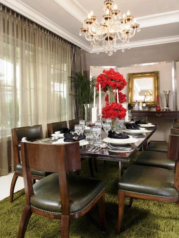 Modern victorian elegant dining room modern victorian for Victorian dining room