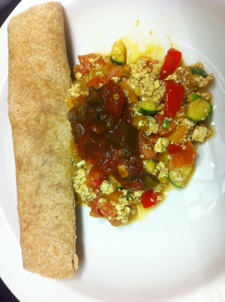 Mexican Tofu Scramble Recipe | Meatless Monday | Pinterest
