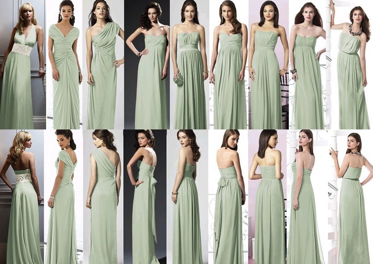 explore mint bridesmaid dresses