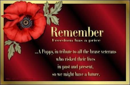 remembrance day traditions canada