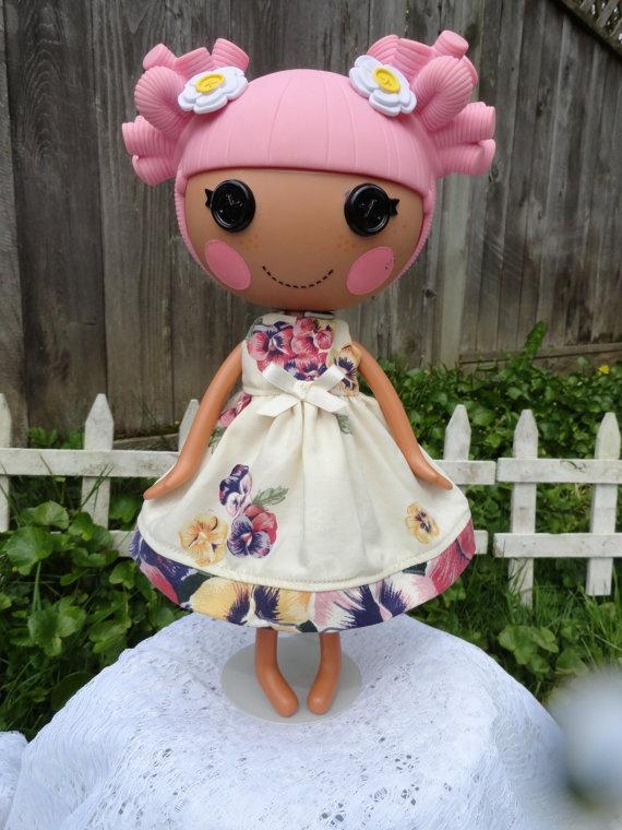 Lalaloopsy Чай платье Сделано Форма Upcycled Урожай на MandySewSweet, $ 12.00