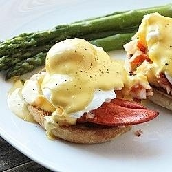 Lobster Eggs Benedict | eat | Pinterest