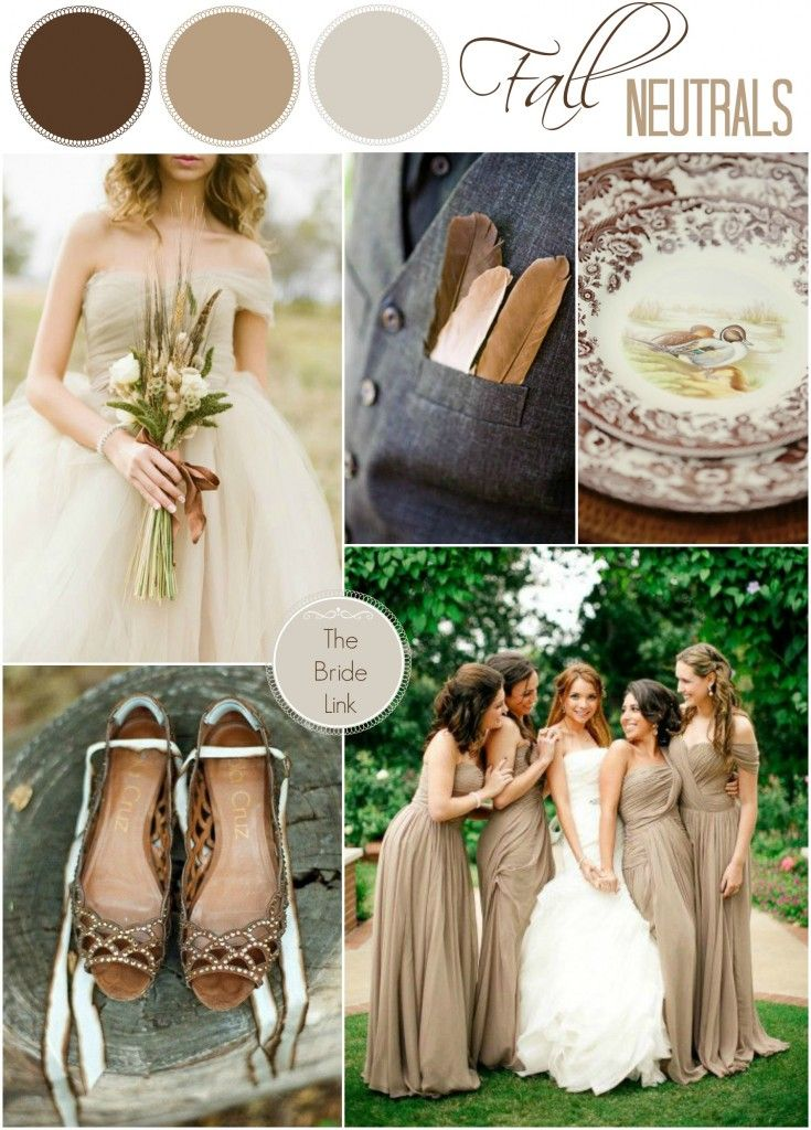 Neutral fall wedding color ideas wedding ideas pinterest for Neutral paint color ideas