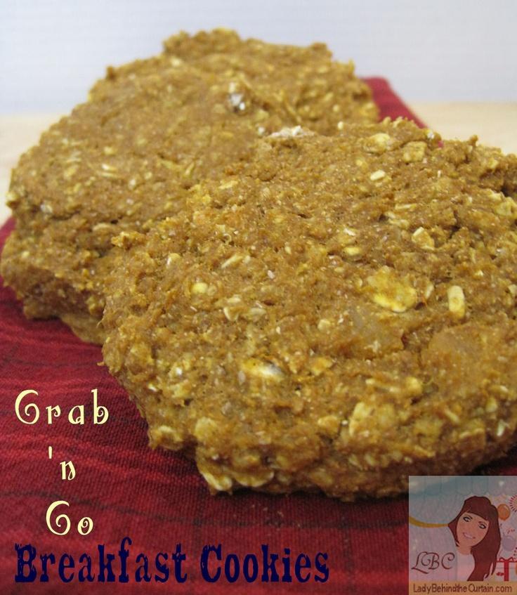 Grab 'n Go Breakfast Cookies