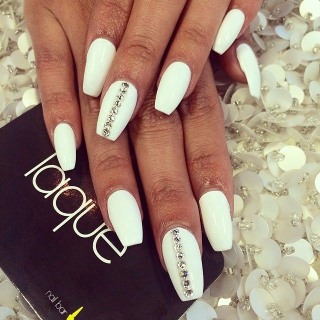 Coffin-Shaped Nails - DopePicz