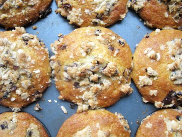 Chocolate Chunk Muffins with Cocoa Nib Streusel | Serious Eats ...