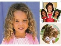 Curly hair styles for little girls