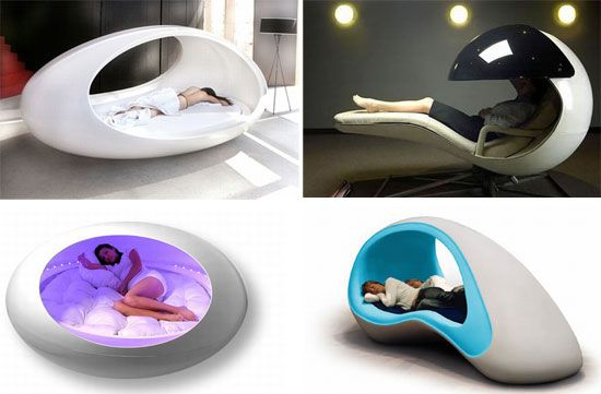 Coolest Sleeping pods for some serious napping job | Designbuzz : Design ideas and concepts