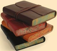 Two Hands Paperie has BEAUTIFUL leather bound journals