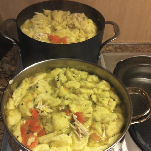 My awesome chicken dumpling soup!!! | Soup | Pinterest