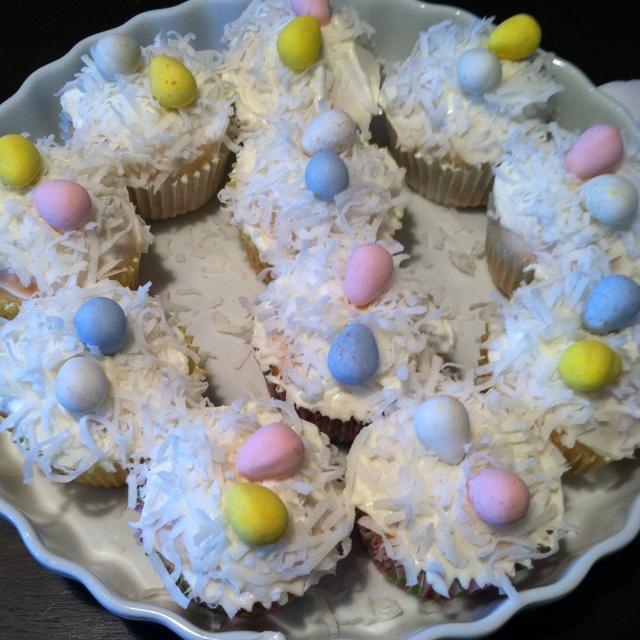 Skinny Coconut Cupcakes...de-lish!!   Baking   Pinterest