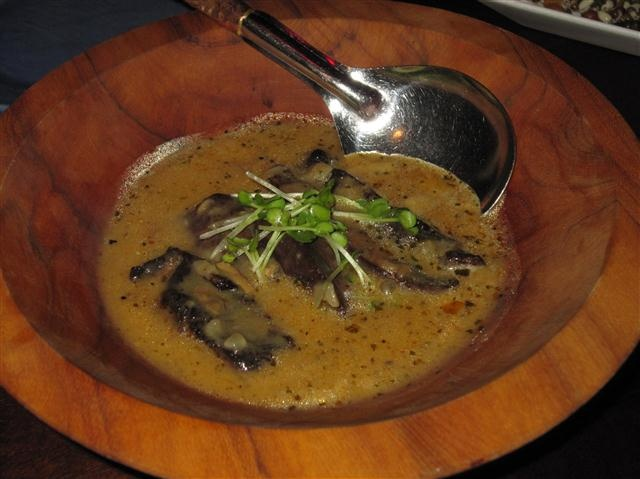 Grilled Portobello Mushroom In A Porcini Cream Sauce Recipe ...