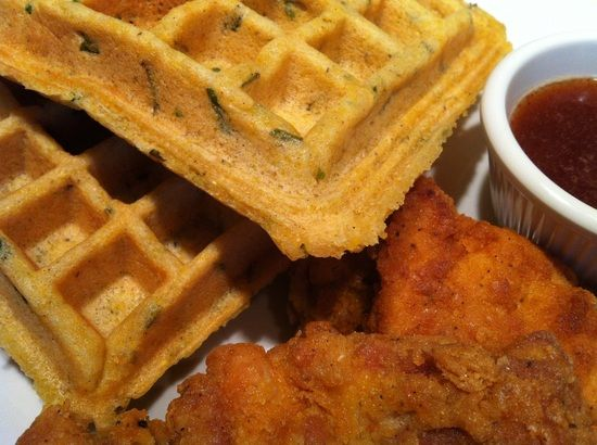 gluten free cornbread waffles and cornflake chicken gf recipes ...
